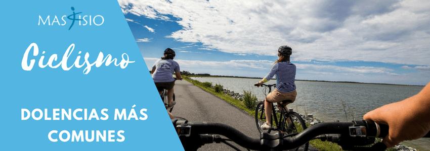 Ciclismo y fisioterapia
